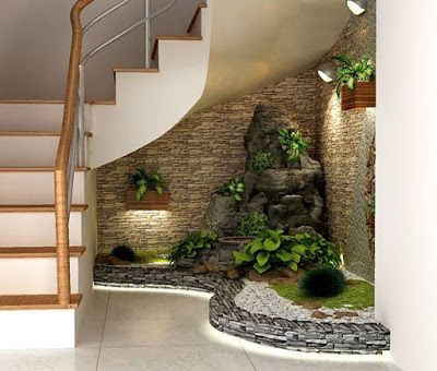 Resultado De Imagen Para How To Decorate Space Under Stairs With