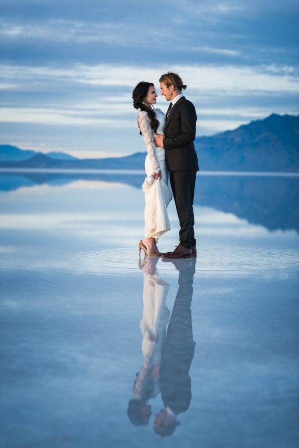 36 Amazing Real Wedding Portraits We Heart