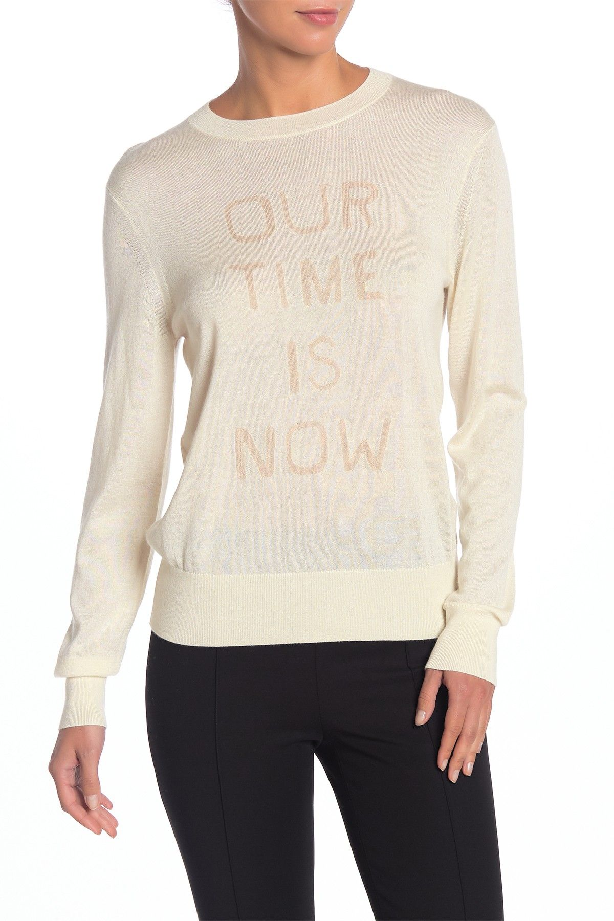 Theory | Our Time Is Now Silk & Cashmere Pullover #nordstromrack