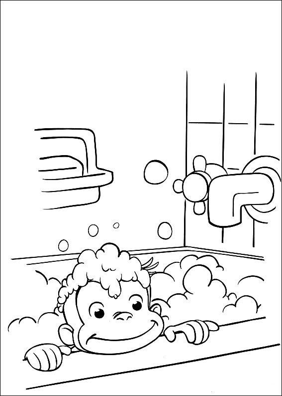 coco der neugierige affe 39 ausmalbilder für kinder