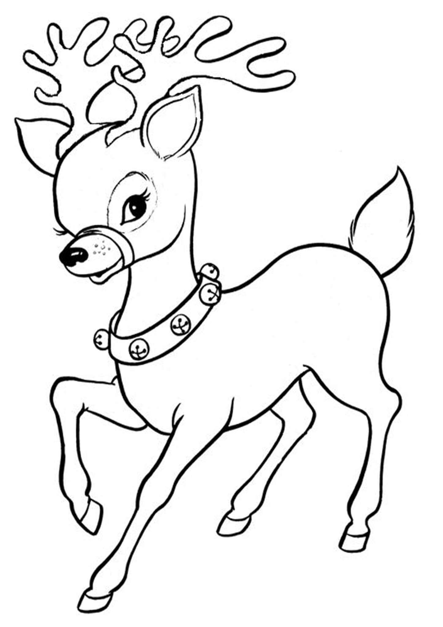 Free Printable Reindeer Coloring Pages Santa Coloring Pages Christmas Coloring Sheets Christmas Coloring Pages