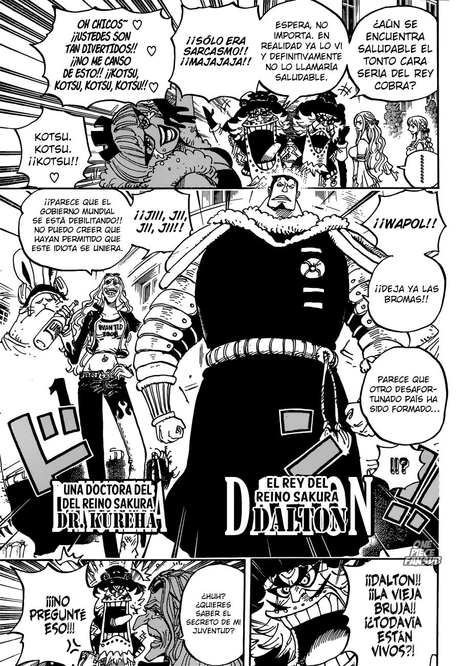 One Piece 906 Pagina 14 Scanlations One Piece Fansub One