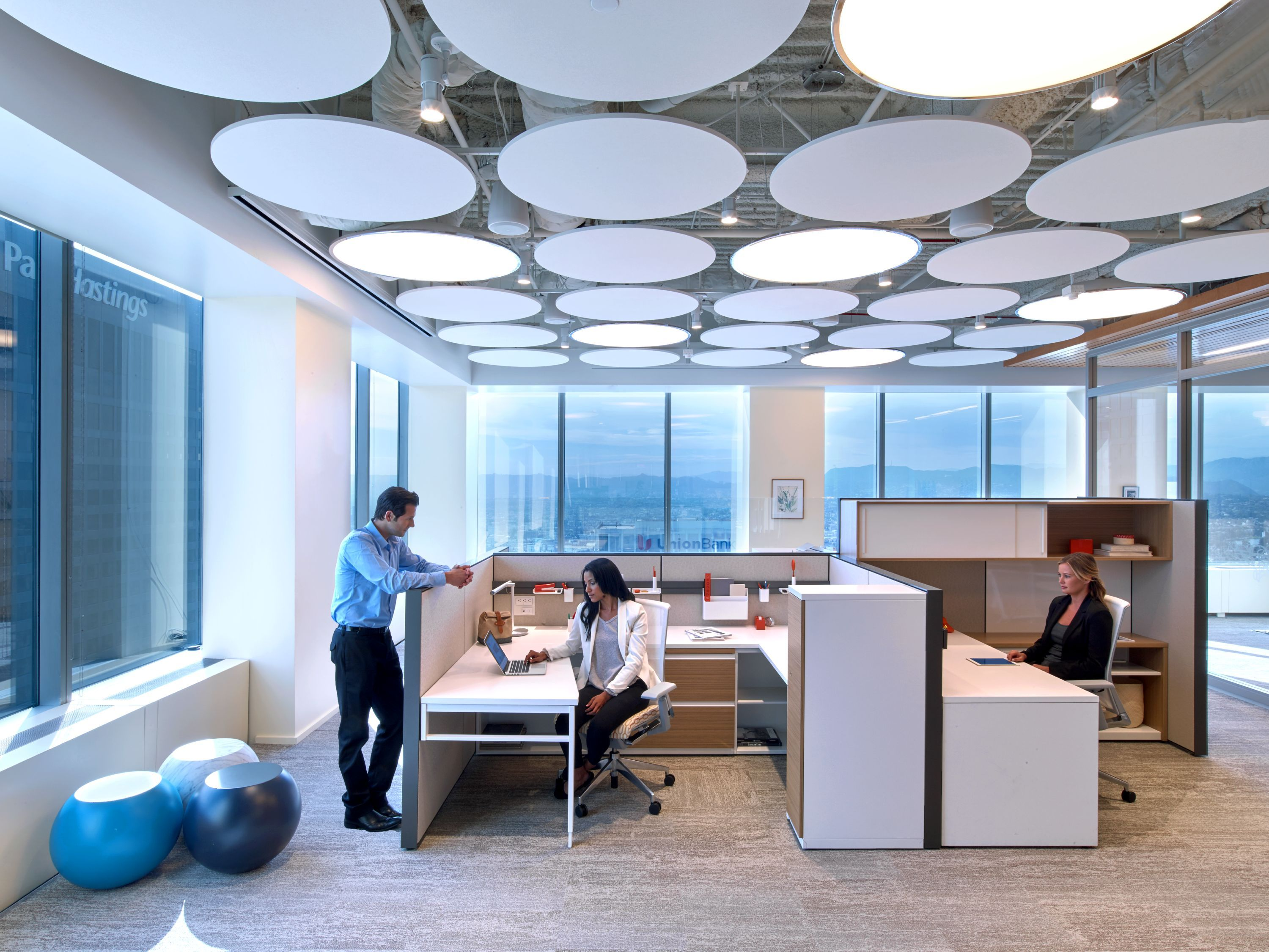 Haworth La Showroom Workspaces Haworth Workspaces Pinterest # Haworth Muebles Oficina