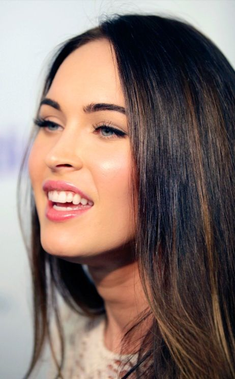 Megan Fox - subtle highlights | Hair & Beauty | Pinterest | Subtle ...