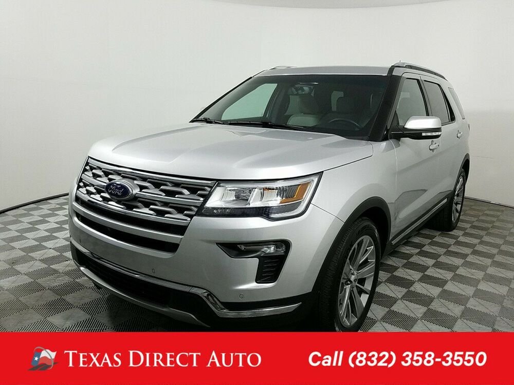 Ebay Advertisement 2018 Ford Explorer Limited Texas Direct Auto 2018 Limited Used 3 5l V6 24v Ford Explorer Limited Ford Explorer Vehicle Shipping