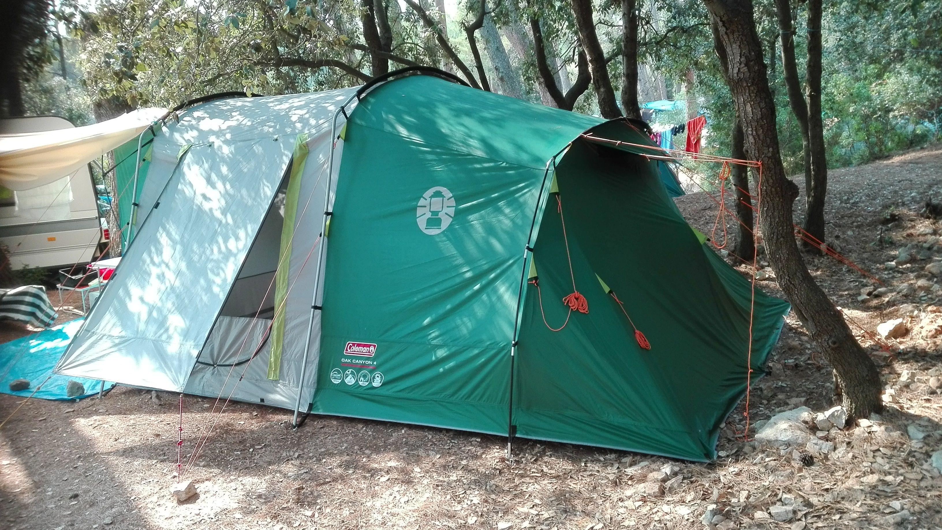 Coleman Oak Canyon šotor za 4 osebe & Coleman Oak Canyon šotor za 4 osebe | Tent | Pinterest | Tents