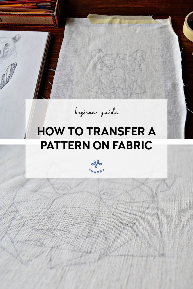 how to transfer embroidery patterns on fabric #embroiderypatternsbeginner