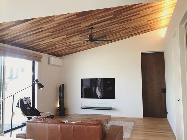 Makiさんはinstagramを利用しています 勾配天井とレッドシダー