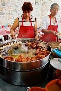 Ajijic bazaar local food