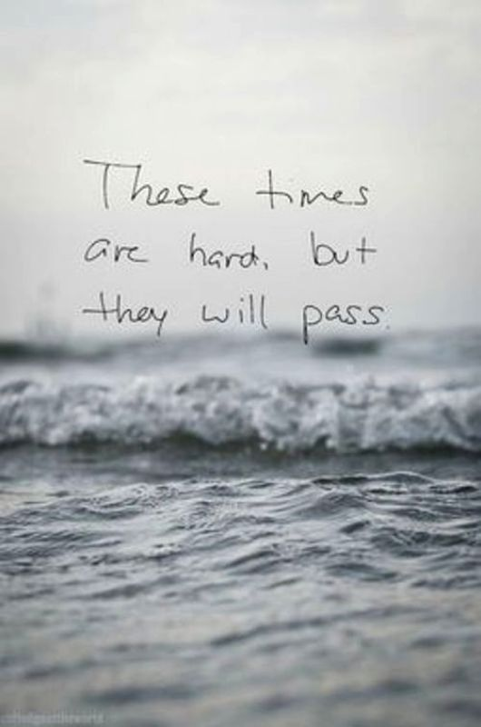These Time Are Hard But They Will Pass Hard Times Quotes Times Quotes Determination Quotes