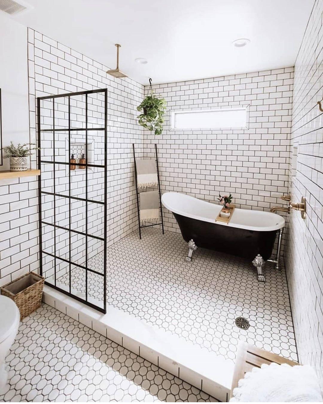 Burchard Design Co On Instagram Where All My High Maintenance Girls At Have You Guys Seen That Meme In 2020 Wet Rooms Spa Inspired Bathroom Frameless Shower Doors