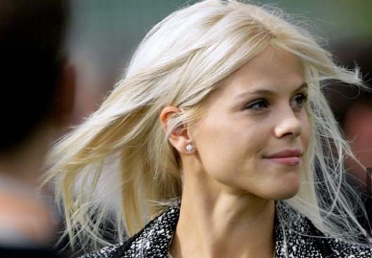 love Elin's hair color   Elin nordegren, Tiger woods ex ...