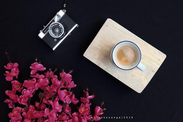 Cara Membuat Background Foto Flat Lay Warna Hitam