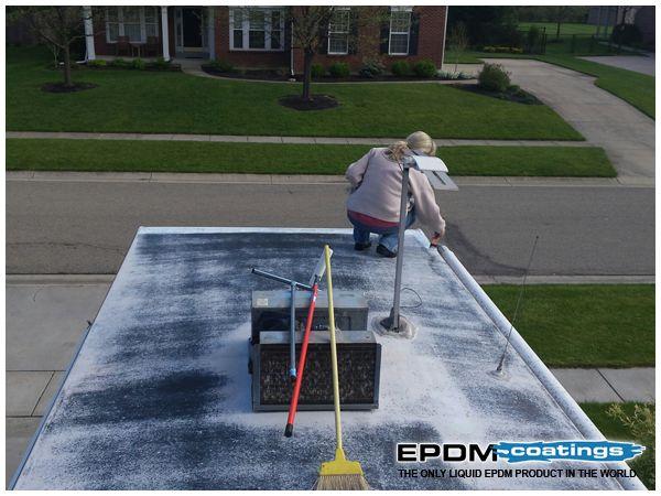 Rv Roof Repair Coatings To Fix Rv Roof Leaks Epdm Coatings Roof Repair Rv Roof Repair Roof Leak Repair