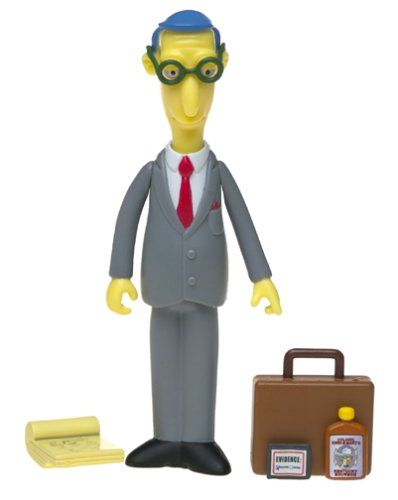 The Simpsons Series 11 Action Figure Blue Haired Lawyer Figures