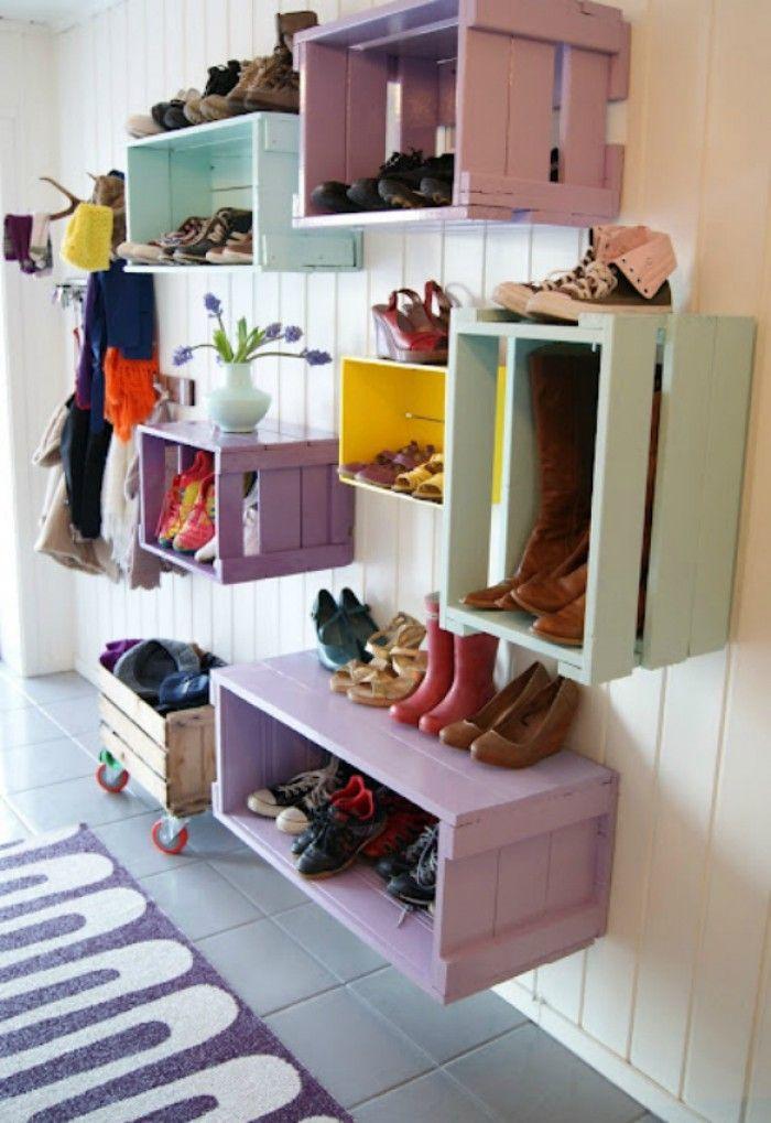 was man aus alten obstkisten nicht so alles machen kann noch mehr ideen gibt es auf www spaaz. Black Bedroom Furniture Sets. Home Design Ideas