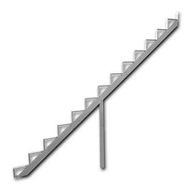 Best Pylex 13 Step Aluminum Stair Riser Stair Risers 640 x 480