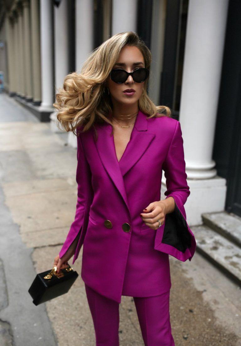 Dresser power trouser suit returns fall workwear