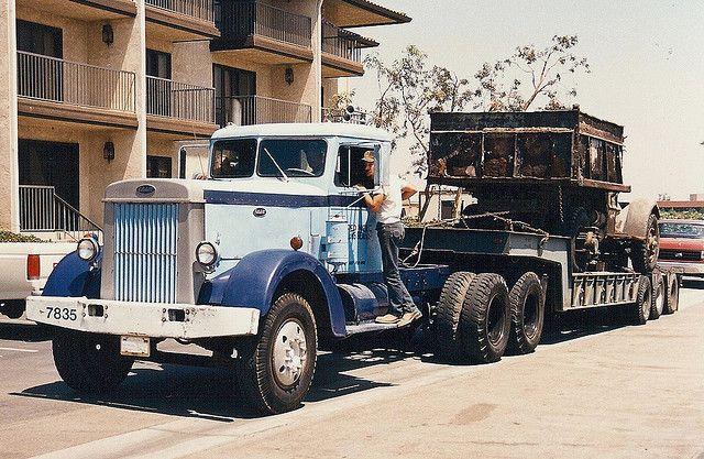 1950's Peterbilt | AHL-Hartoy 1/64 Scale Truck Prototypes