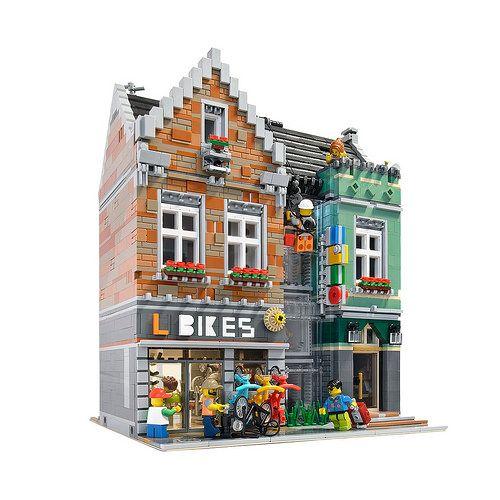 Bike Shop レゴ マインクラフトの家 マインクラフト