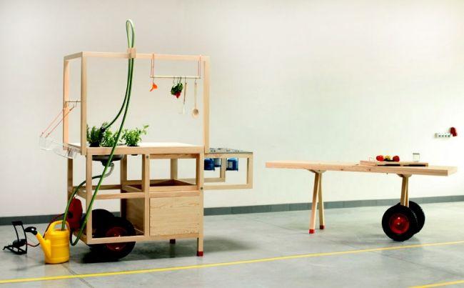 Moderne Designlosung Kuche Mobil Ideen Food Culture Food Cart In