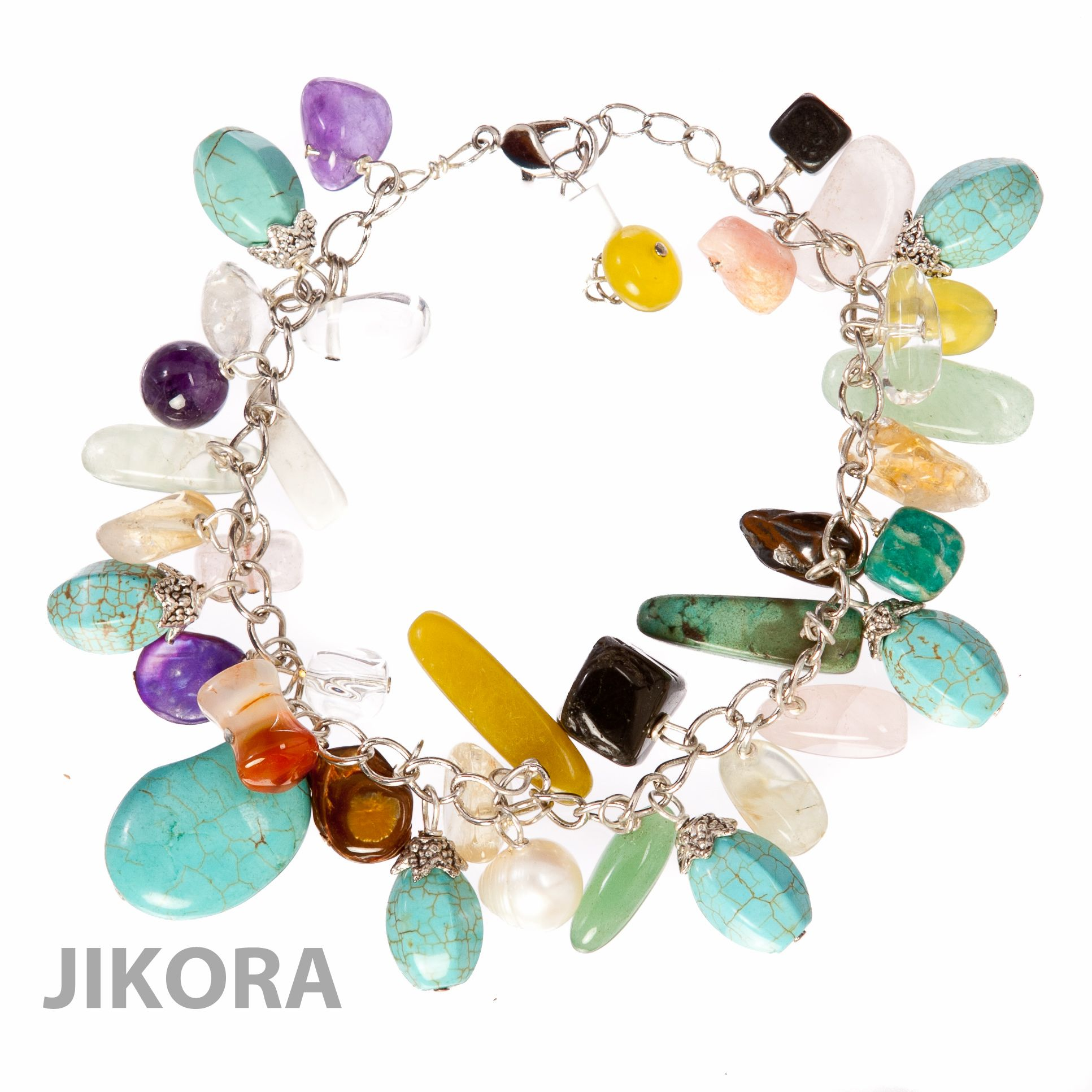 halo plated white gemstone gold over stone sterling bracelet in colored p silver