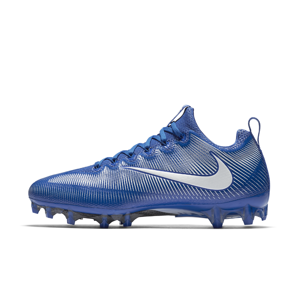 2e02535dfee0 Nike Vapor Untouchable Pro Men s Football Cleat Size 8.5 (Blue) - Clearance  Sale