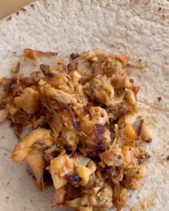 "Tabitha Brown/ on Instagram: ""Jackfruit tacos because it's Taco Tuesday! I purchase my cans from the Asian market or Trader Joes! Jackfruit takes on the flavor of…"""