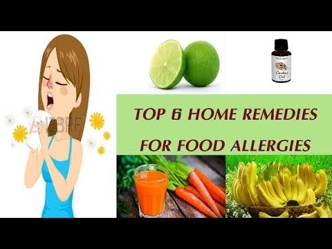 top 6 home remedies for food allergies  allergies home