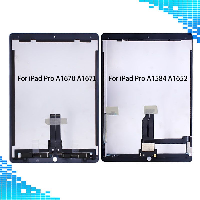 For Ipad Pro 12 9 A1584 A1652 A1670 A1671 Lcd Displaytouch Screen Assembly With Board For Ipad Pro A1584 A1652 A1670 A1671 Ipad Pro Ipad Pro 12 9 Ipad
