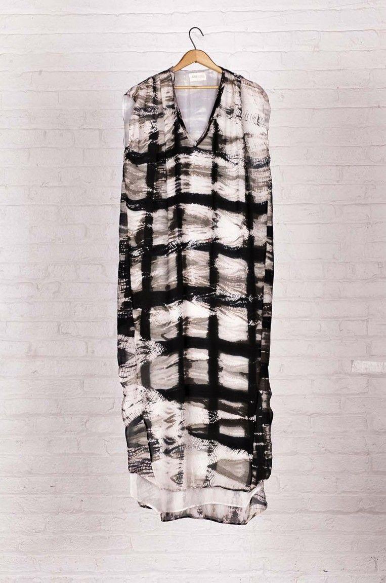 Shibori Hand Dyed Kaftan Shibori dress, Fashion