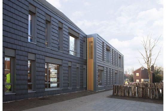 Waterhoef brede school dat architecten a u modern for Dat architecten