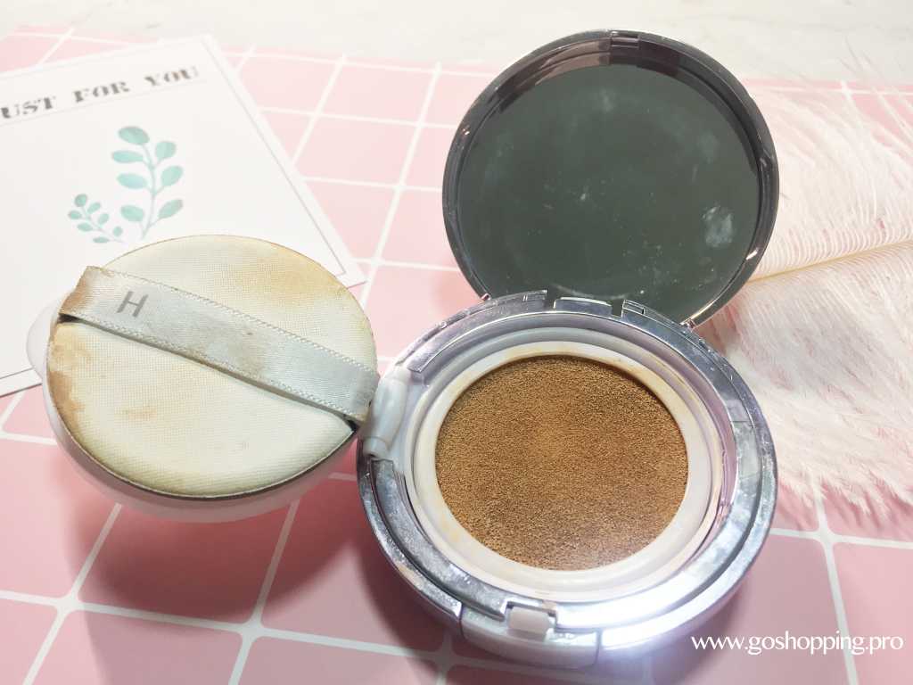 Hera Uv Mist Cushion Review C21 Korean Cosmetics Review Skincare I