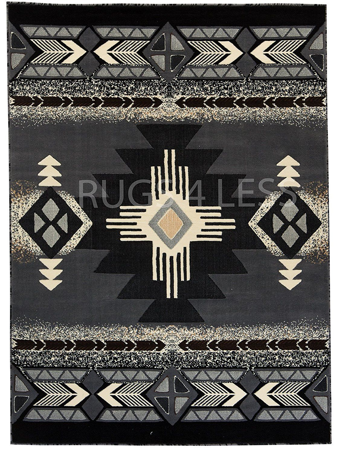 Western Collection Southwest Native American Indian Area Rug