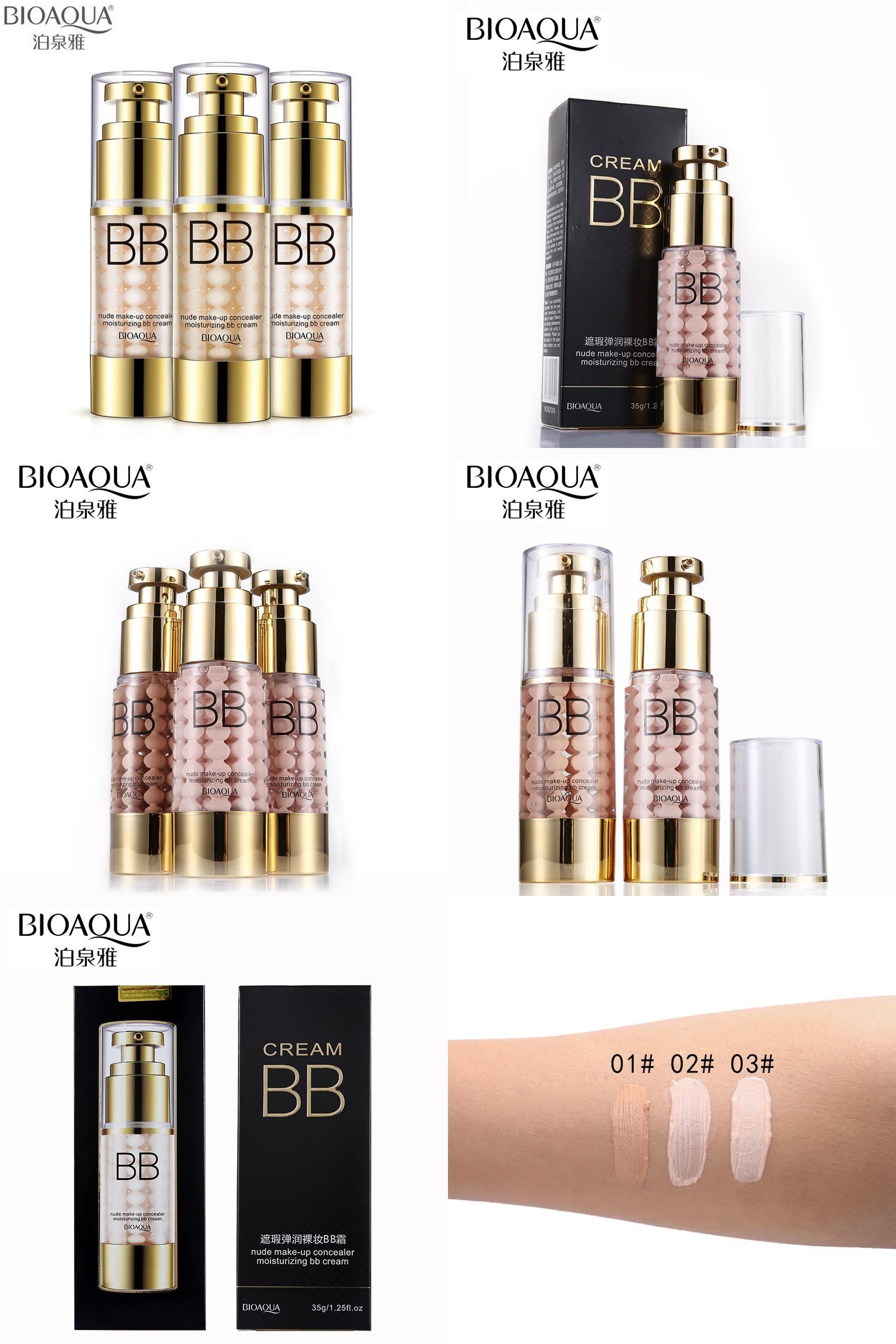 Visit To Buy Bioaqua Brand Air Cushion Bb Cc Cream Liquid Concealer Bio Aqua Aircusion Face Primer