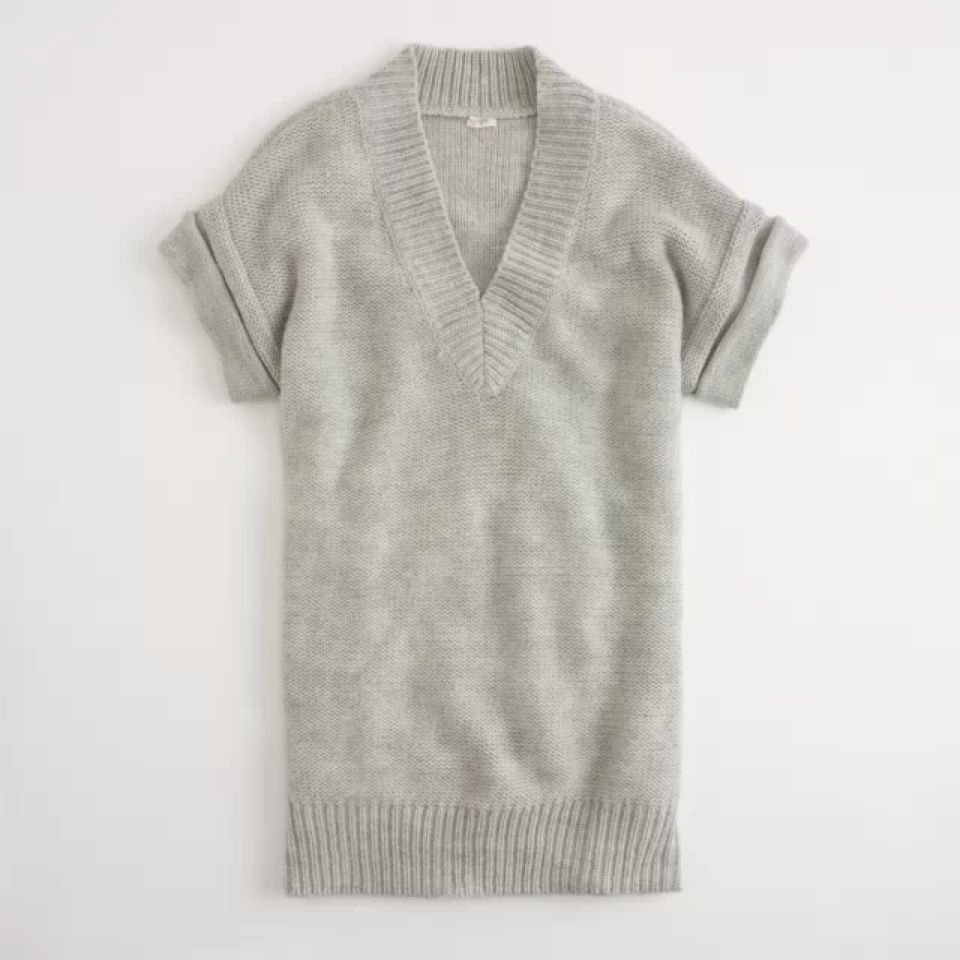 Maxi Sweater Tunic in Grey, Size S, $33.98 Free Shipping! | J.Crew ...