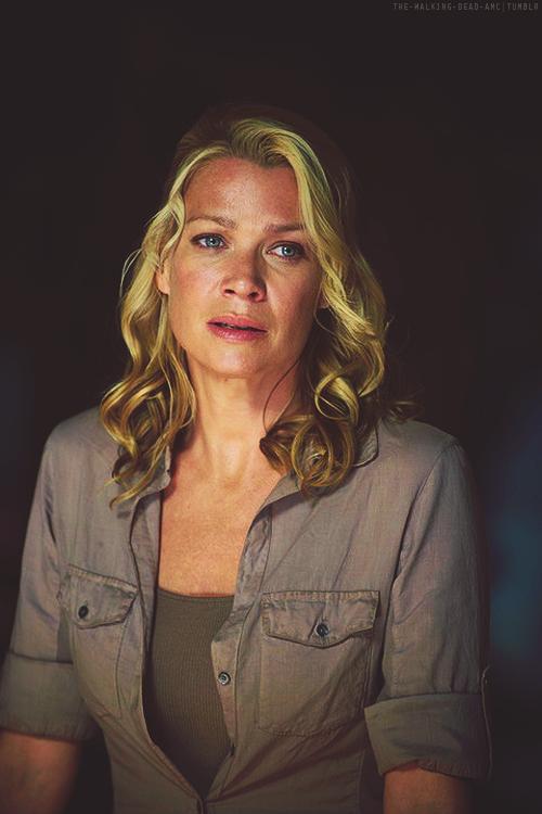 The Walking Dead-- Andrea (Laurie Holden) In 3x13 Arrow On