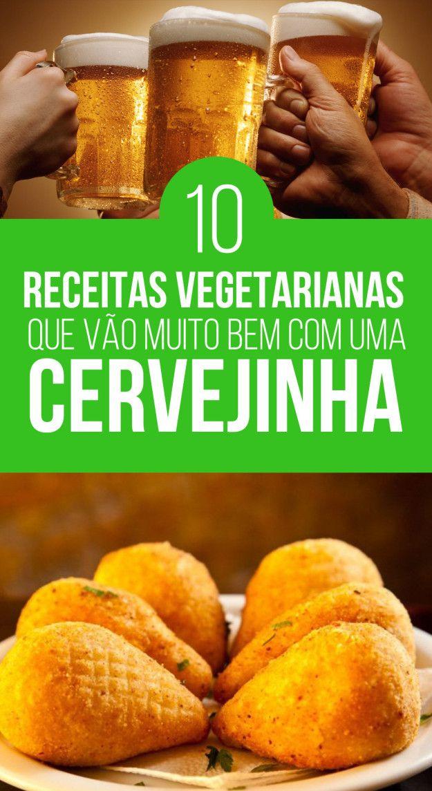 10 receitas vegetarianas que vão muito bem com uma cervejinha