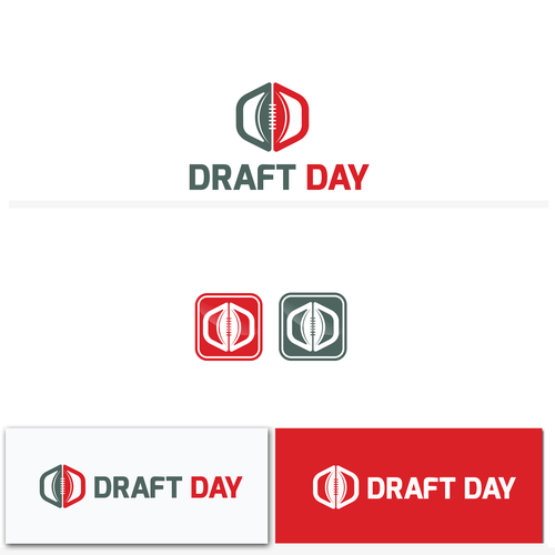 Draft Day Draft Day App Logo American Football Fantasy