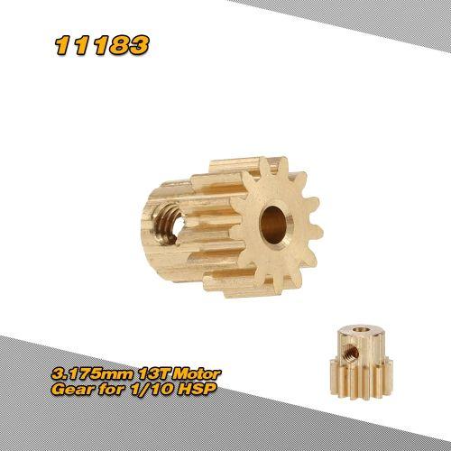 HSP Parts 1:10 RC Car Model 13T 11183 Motor Gear