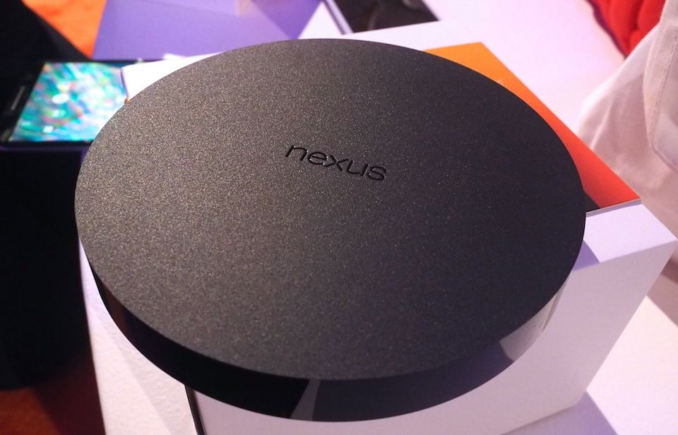 Google takes another step into your living room with its Nexus Player (hands-on) by Chris Velazco | 10/29/014