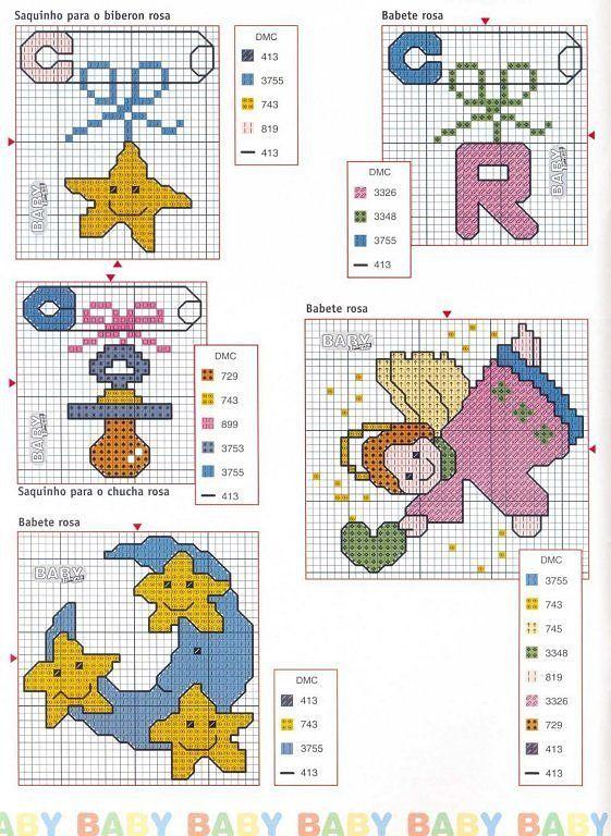 Patrones infantiles en punto de cruz gratis - Imagui | SOFÍA ...
