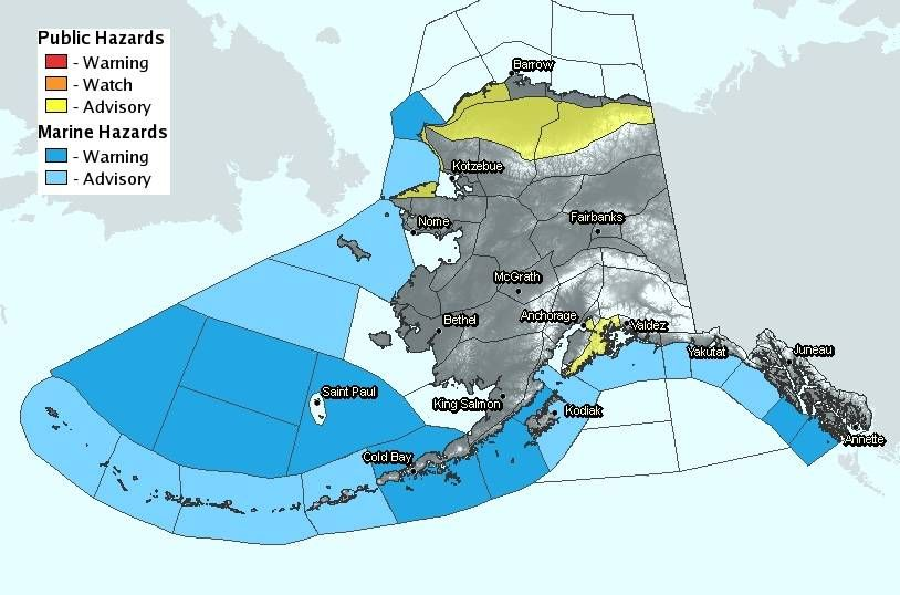 Where I spend 3/4 of my life, The Bering Sea. National