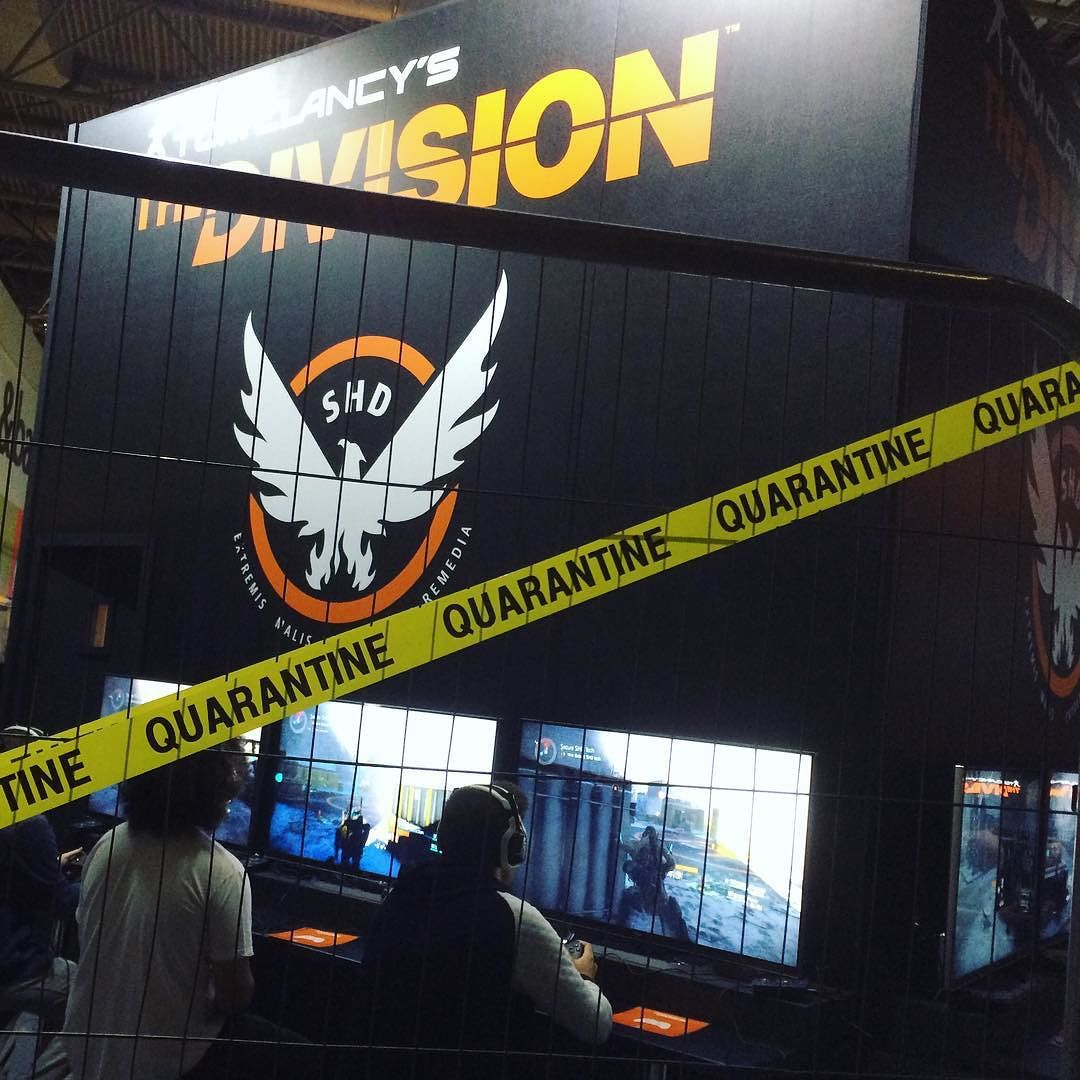 2hrs in & #EGX has consisted entirely of a single queue at the moment... Oh dear. Still @ubisoft #thedivision looks great!  #EGX #queues #queuing #sohungry #sendfood  #eurogamerexpo #NEC #tomclancy #xboxone #videogames #gaming #expo