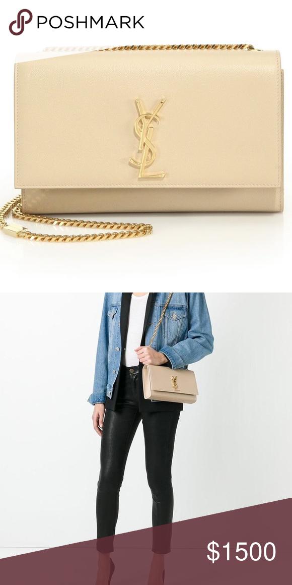 909ec1c62383 Yves Saint Laurent Medium Nude Kate Bag Authentic Yves Saint Laurent Nude  Medium Kate bag with