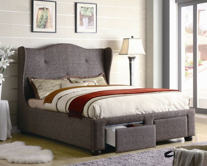Betten Design Jedes Schlafzimmer braucht doch ein