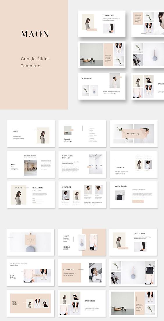 sample google slides template powerpoint design. Black Bedroom Furniture Sets. Home Design Ideas