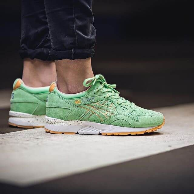 Find out all the latest information on the ASICS Gel Lyte V April Showers  Pack Mint Green, including release dates, prices and where to cop.