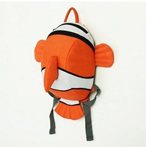 promo code e9165 d1a7a Homesmart Finding Nemo Fish Shaped Bagpack For Kids School ...