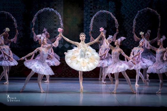 Kristina Shapran as Medora and corps de ballet Mikhailovsky in Le Corsaire  at Theatre Mikhailovsky. ad17ee178a1
